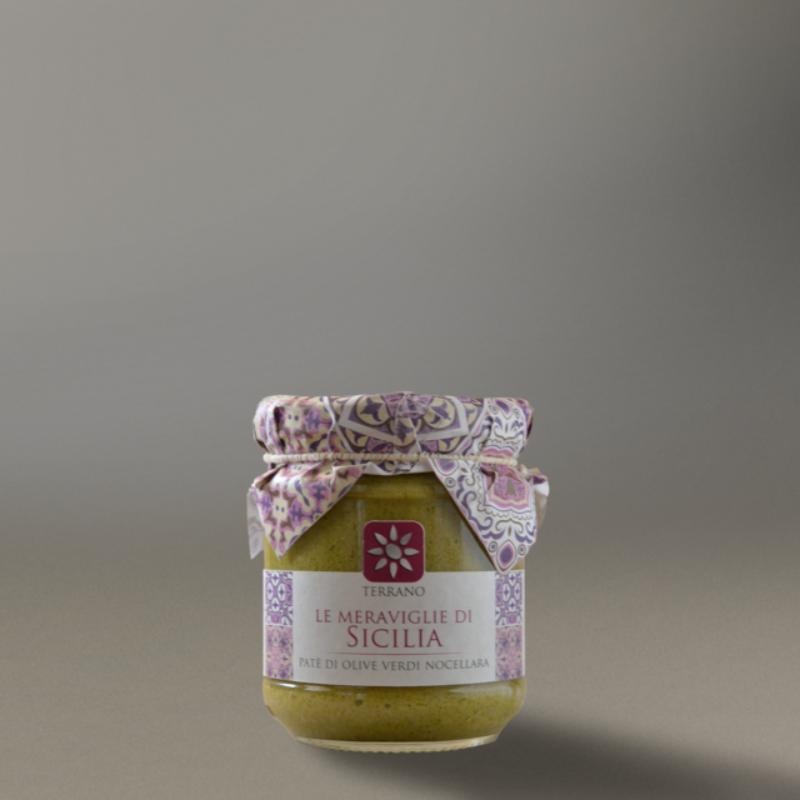Patè di olive verdi dolci